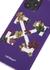 Leaves Arrow purple iPhone 11 Pro case - Off-White