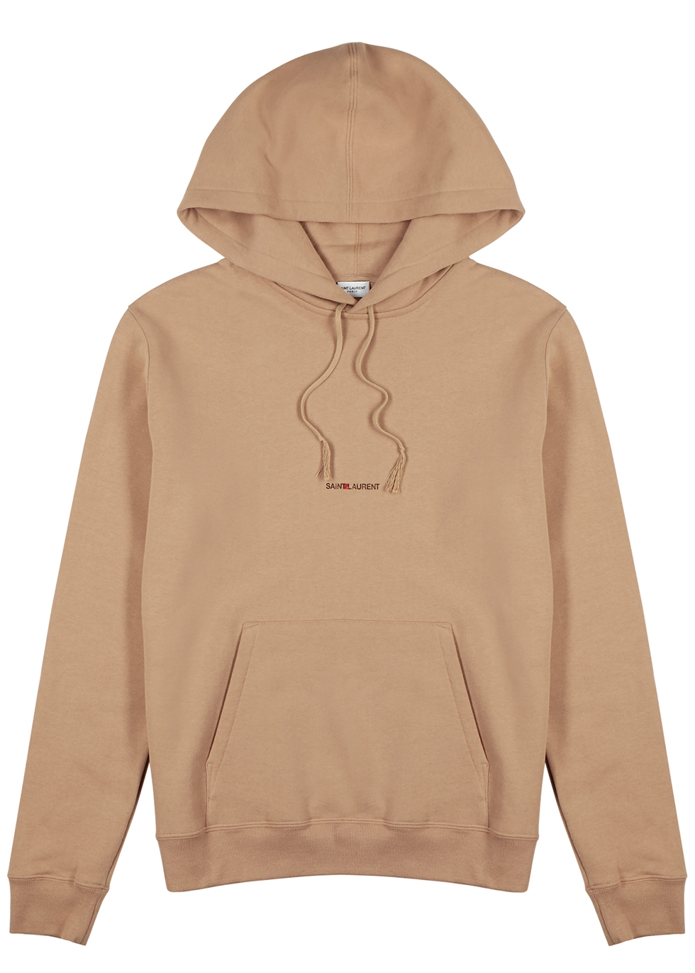 Camel logo-print cotton sweatshirt