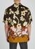 Carltone floral-print matte satin shirt - Dries Van Noten