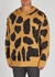 Maddox leopard-intarsia wool-blend jumper - Dries Van Noten