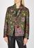 Rolta floral-jacquard lamé jacket - Dries Van Noten