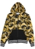 Baroque-print hooded cotton sweatshirt - Versace Jeans Couture