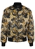 Black reversible shell bomber jacket - Versace Jeans Couture