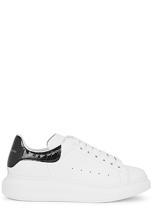 Larry white leather sneakers - Alexander McQueen