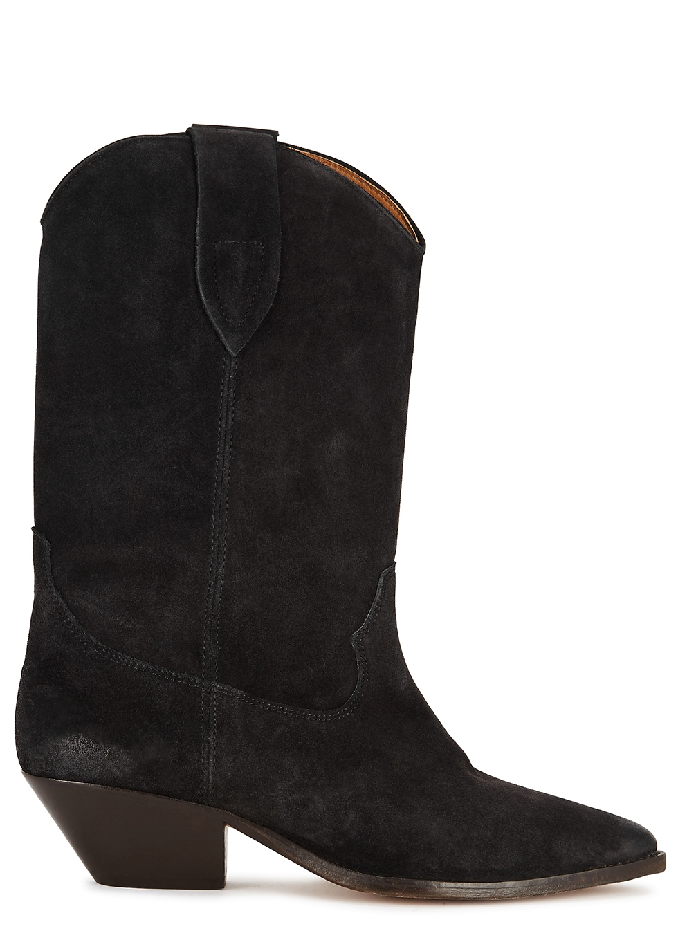 Duerto 50 black suede Western boots
