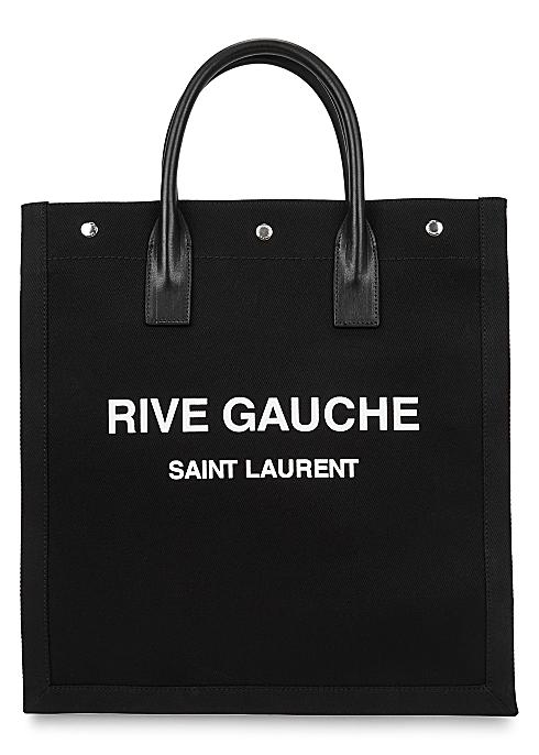 Rive Gauche printed canvas tote - Saint Laurent