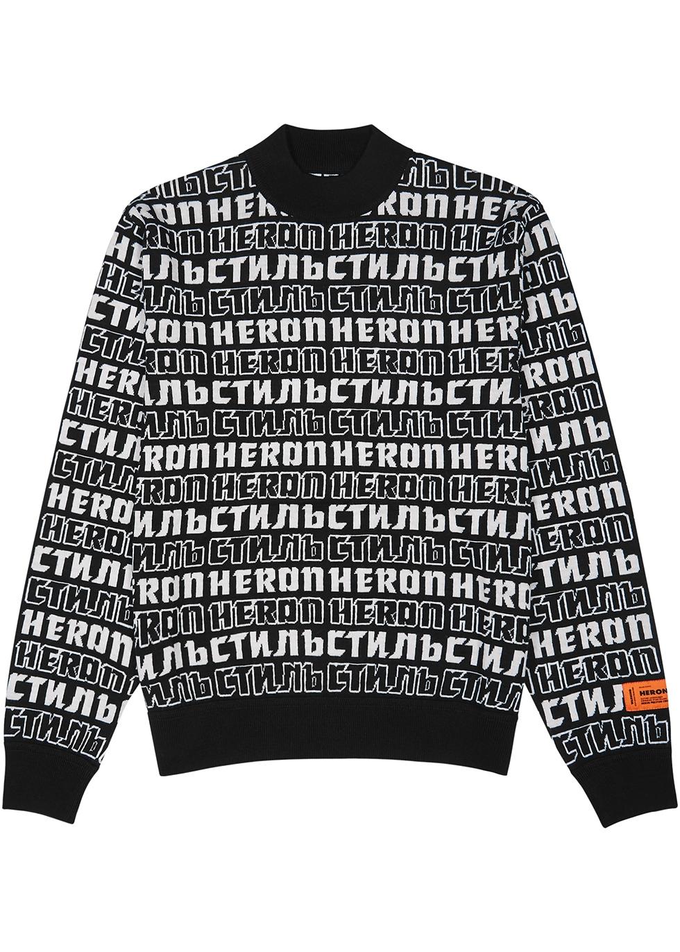 CTNMB-intarsia wool-blend jumper