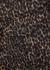 Leopard-print cropped wool-blend jacket - Saint Laurent