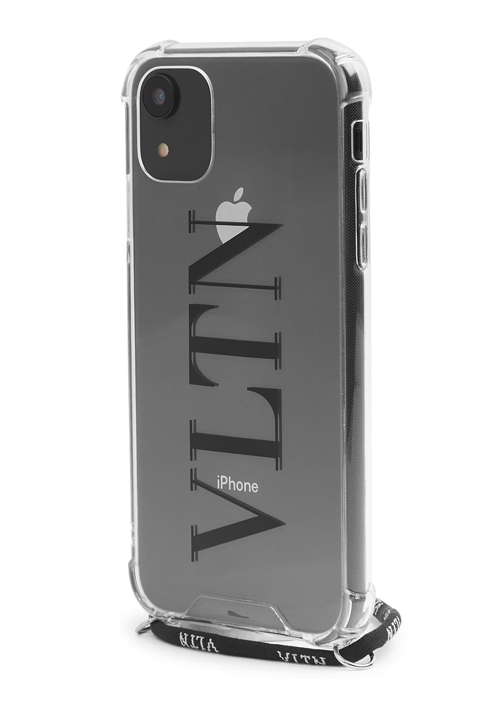 Valentino Garavani VLTN perspex iPhone 11 case