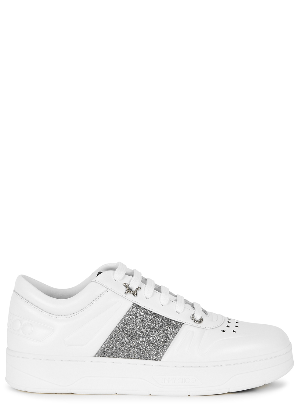 Hawaii white leather sneakers