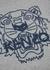 Grey tiger-intarsia wool-blend jumper - Kenzo