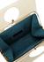 Eddie monochrome leather top handle bag - USISI SISTER
