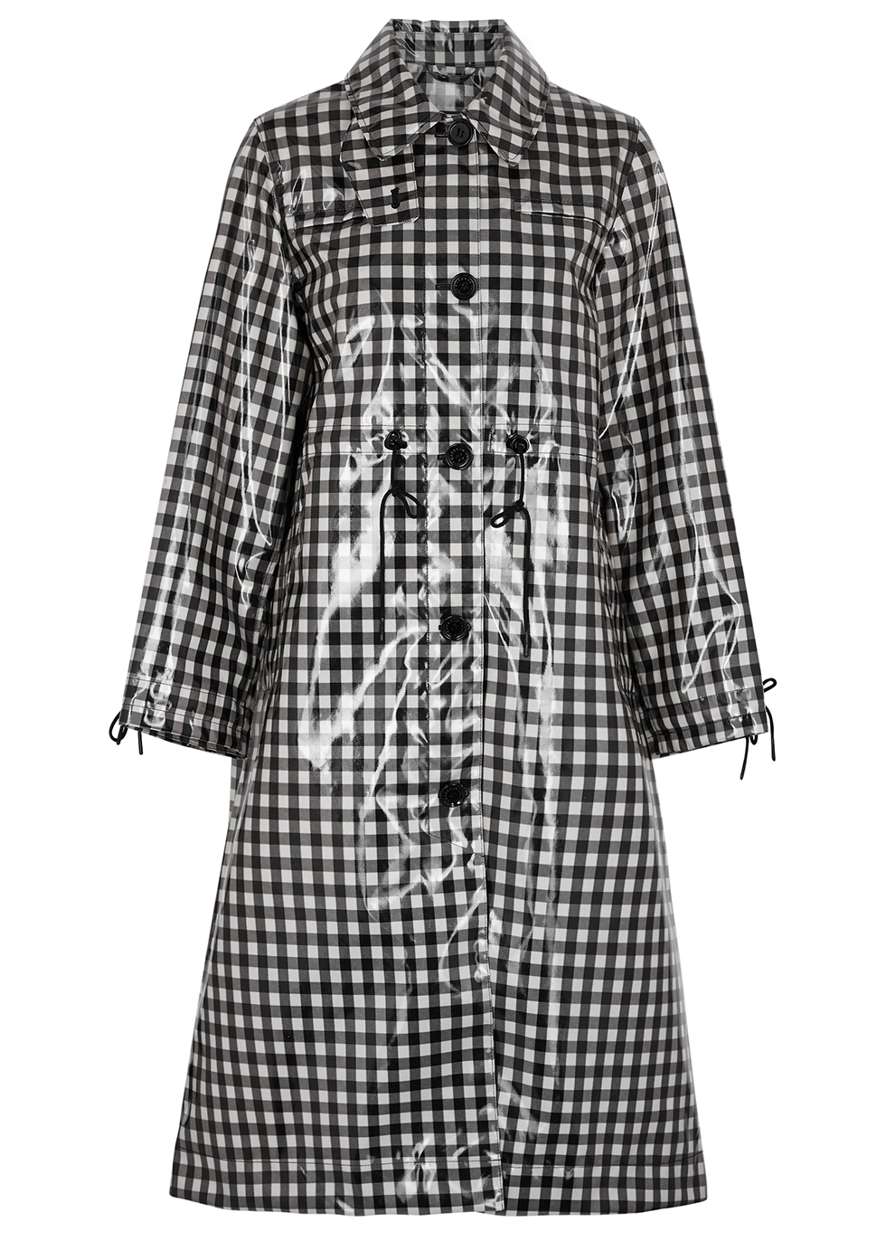 Agnes gingham coated coat
