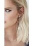 Convertible earrings quartz & silver - Marta Larrson