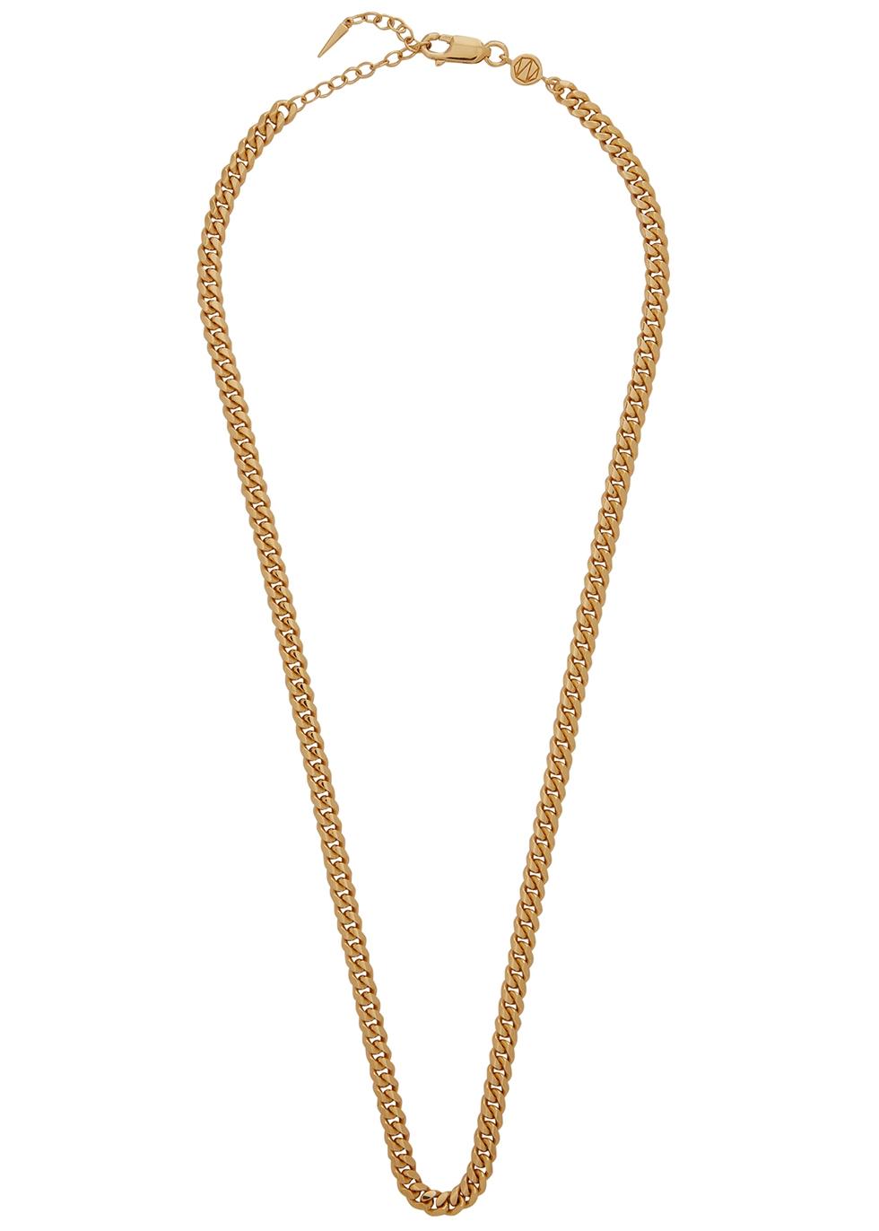 Garde 18kt gold vermeil chain necklace