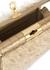 Gemma fringed leather and canvas shoulder bag - gu_de