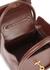 Love dark brown leather top handle bag - gu_de