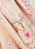 Savina floral-print silk blouse - Mark Kenly Domino Tan