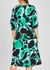 Bliss printed silk crepe de chine midi dress - Diane von Furstenberg