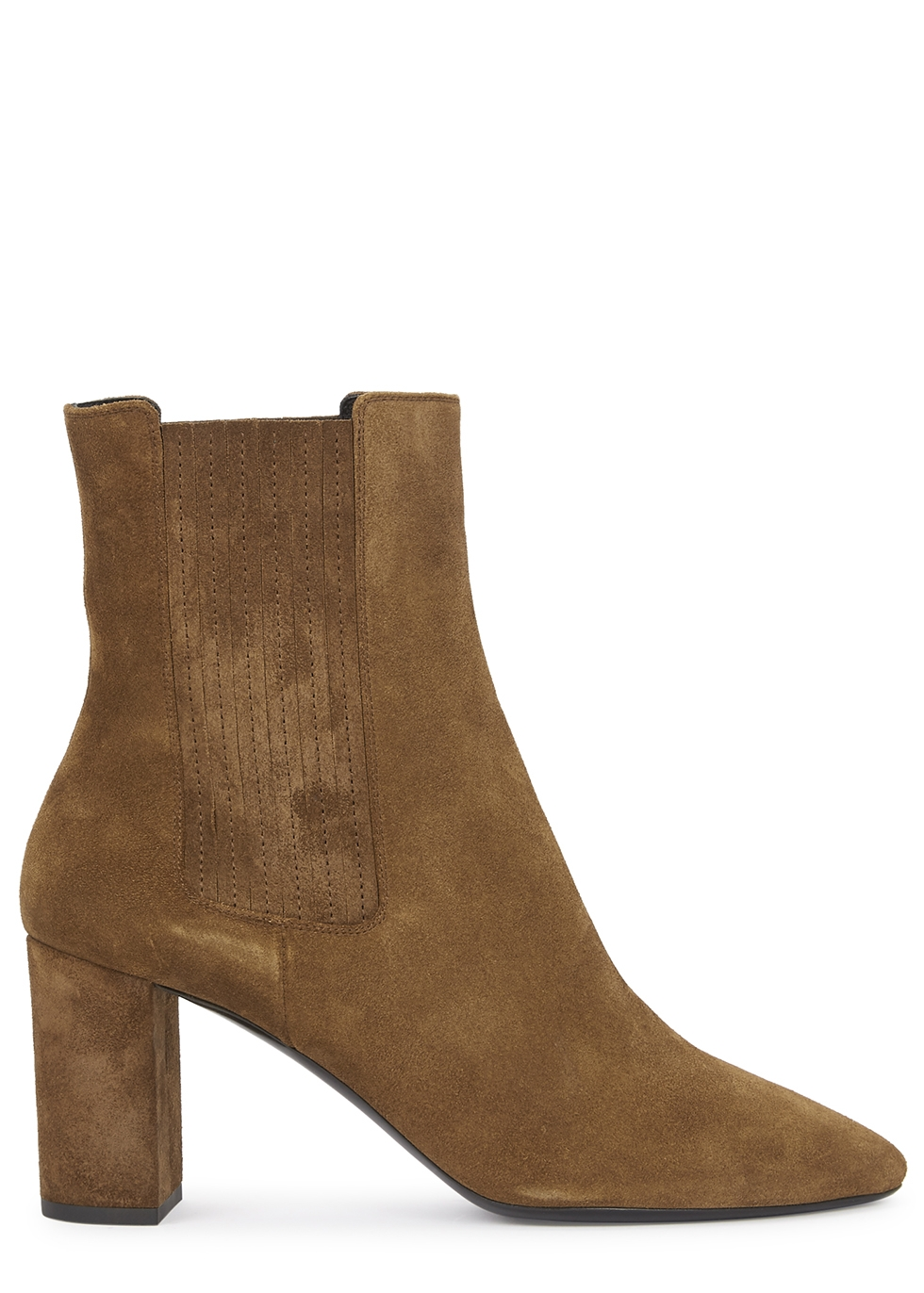 Mica 75 brown suede ankle boots