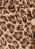 Lucky leopard-print silk mini dress - Zimmermann