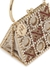 Tris crystal-embellished top handle bag - Rosantica