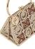 Tris crystal-embellished top handle bag - Rosantica