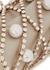 Brigitta crystal-embellished top handle bag - Rosantica