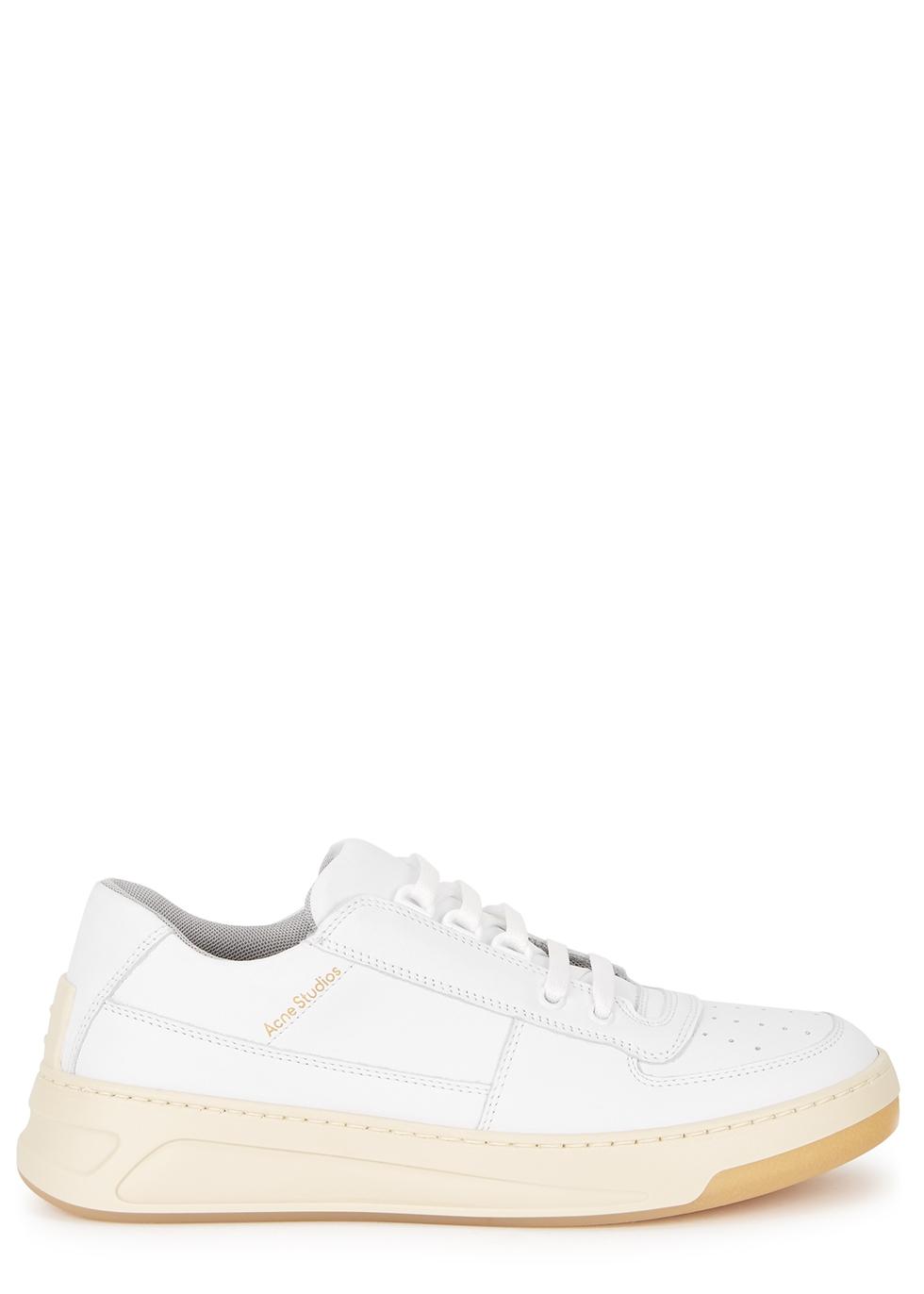Acne Studios Steffey white leather