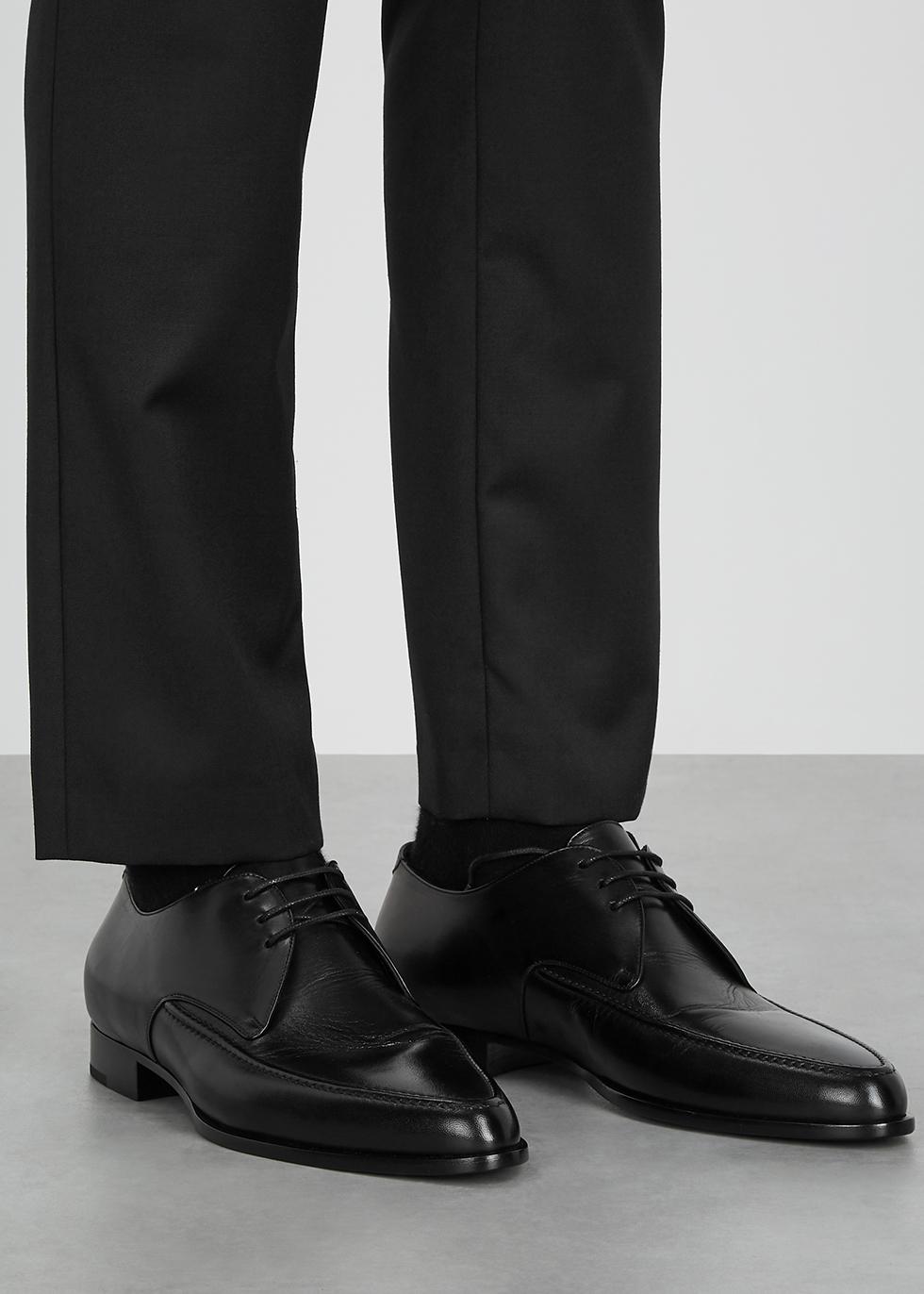 Saint Laurent Marceau black leather
