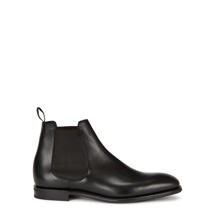 Church's PRENTON BLACK LEATHER CHELSEA BOOTS