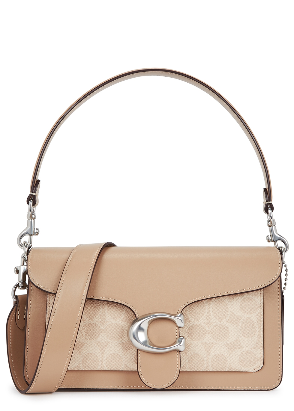 Tabby 26 monogrammed leather shoulder bag