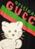 Original Gucci kitten-embroidered cotton T-shirt - Gucci