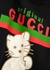 Original Gucci kitten-embroidered cotton sweatshirt - Gucci