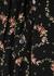 Floral-print jersey maxi dress - Paco Rabanne