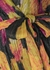 Astoria printed metallic plissé midi dress - Rebecca Vallance