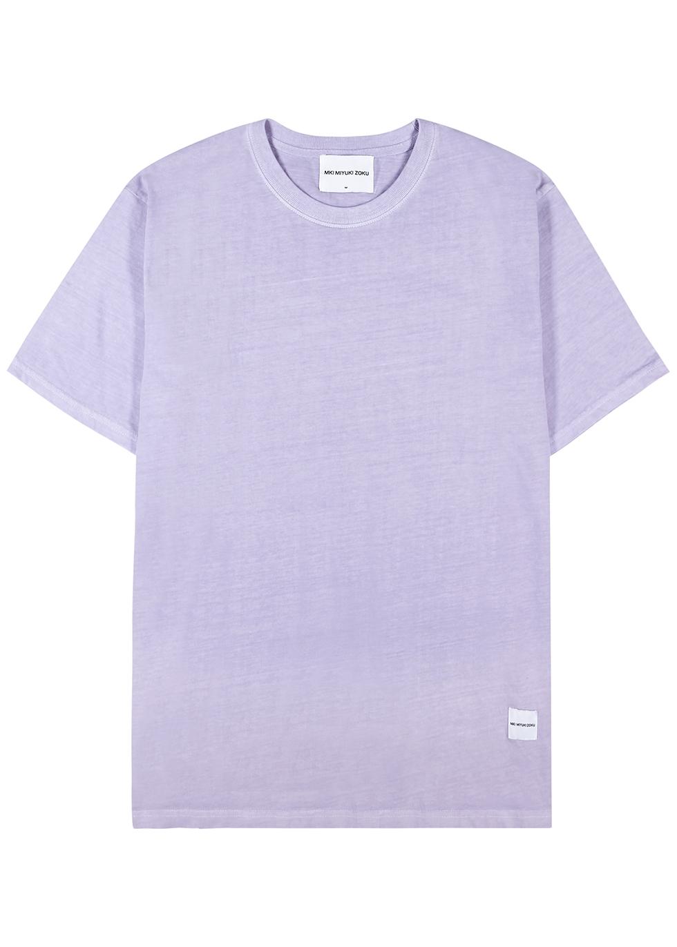 Light grey cotton T-shirt
