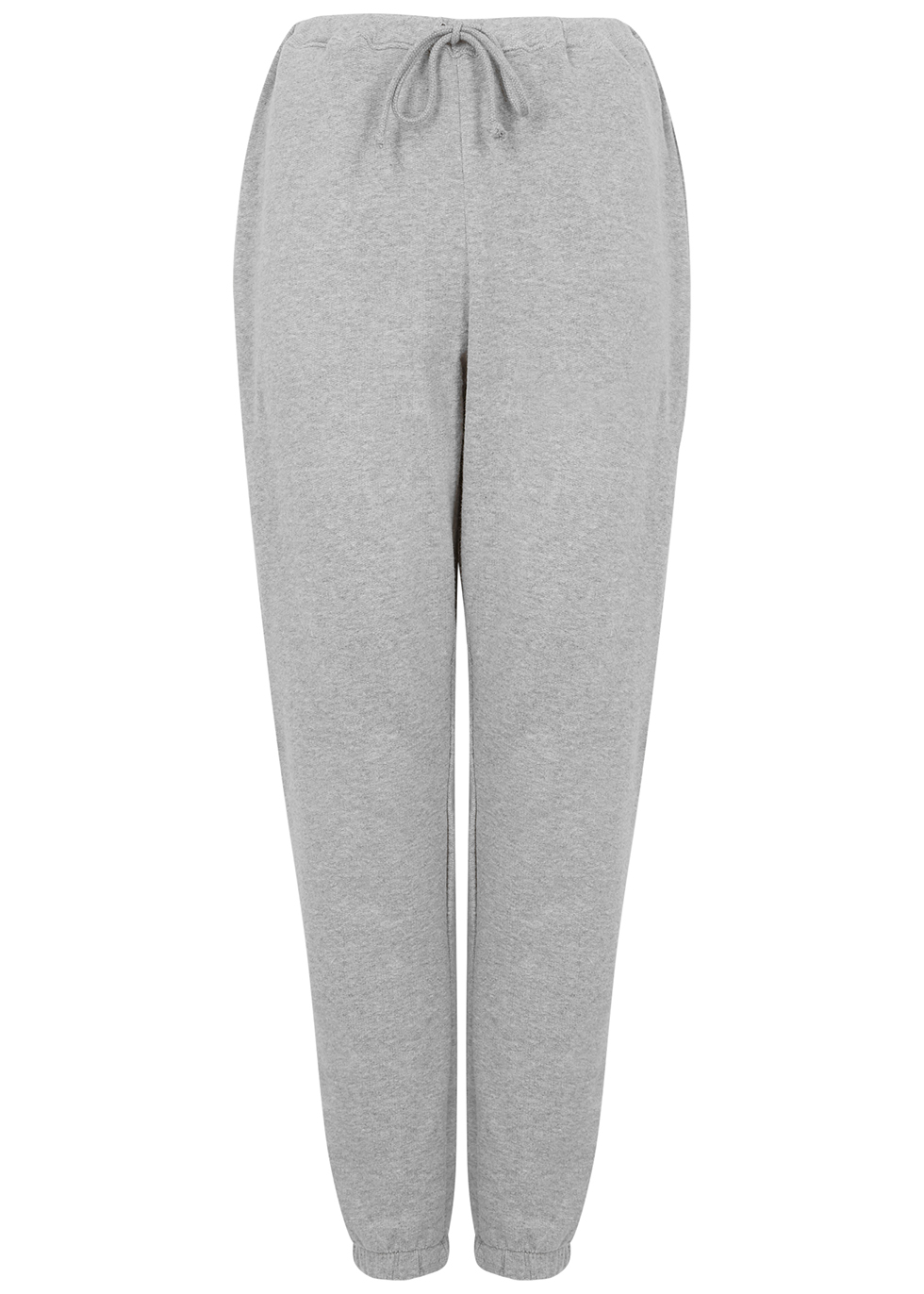 Neaford grey mélange stretch-cotton sweatpants