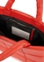Assante red padded leather tote - Stand Studio