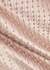 Juliet blush embellished satin midi skirt - Nafsika Skourti