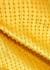 Juliet yellow embellished satin midi skirt - Nafsika Skourti