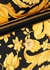 Baroque-print leather backpack - Versace