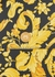 Baroque-print leather neck pouch - Versace