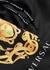 Black logo-print shell swim shorts - Versace