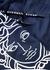Medusa navy shell swim shorts - Versace