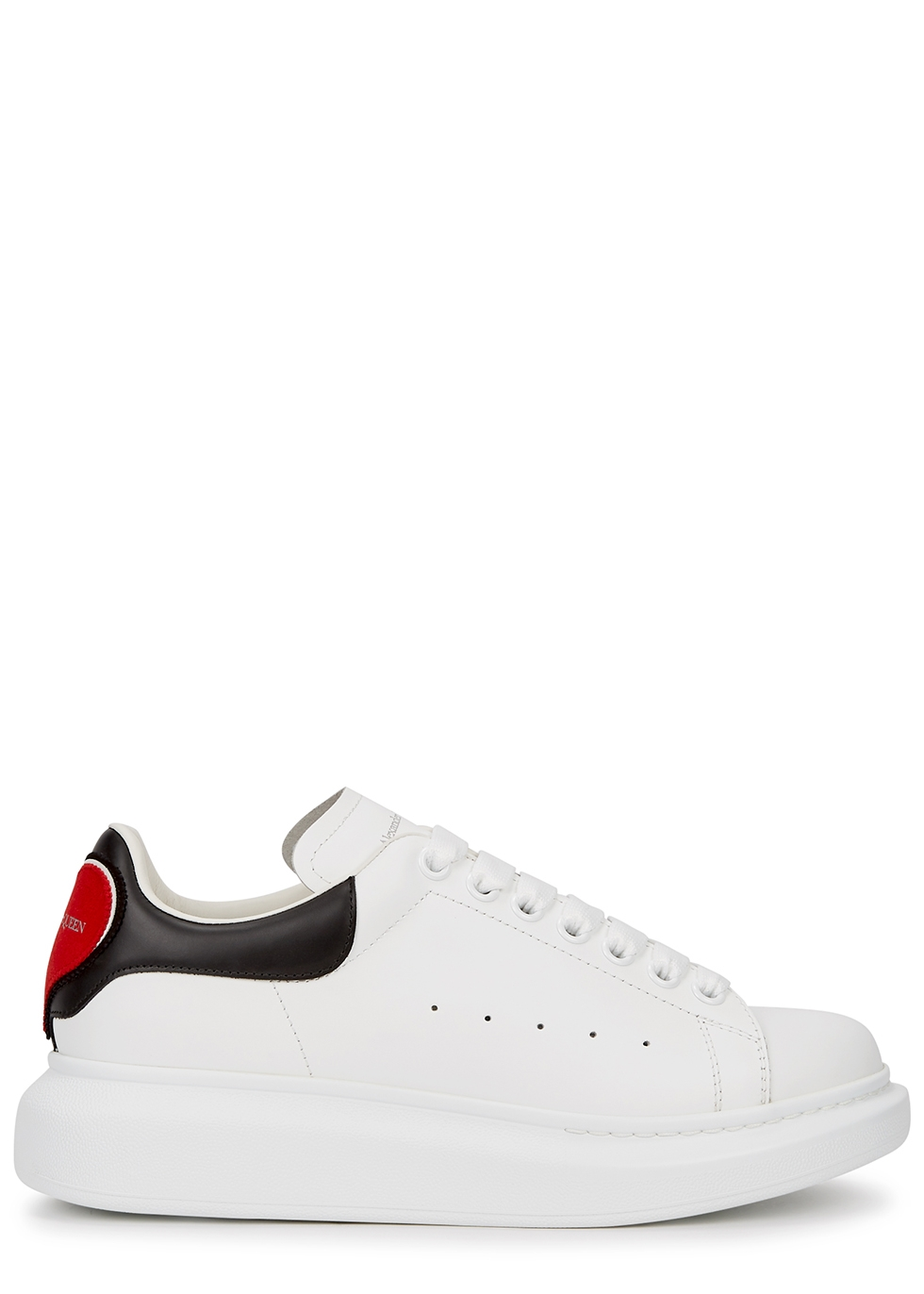ladies white low top trainers