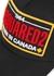 Black logo-embroidered twill cap - Dsquared2