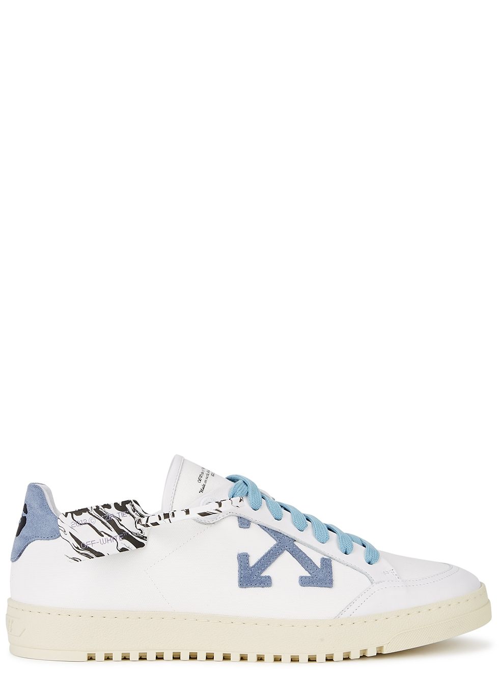 Off-White 2.0 white canvas sneakers
