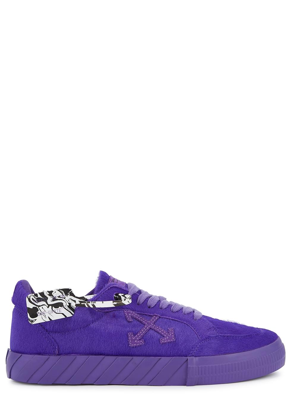 Off-White Low Vulcanized purple calf