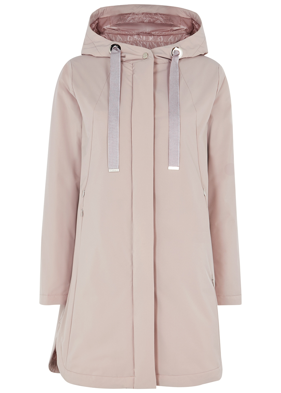 Travel mauve shell jacket